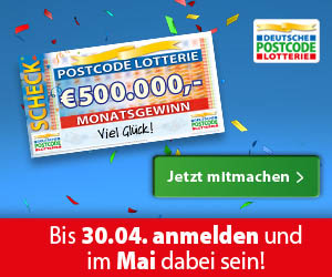 Deutsche Postcode Lotterie Test
