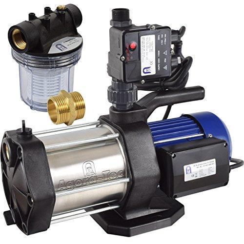 Agora-Tec® AT-Hauswasserwerk-5-1300-10DW-1L, 5 stufige-Hauswassserwerke-Test
