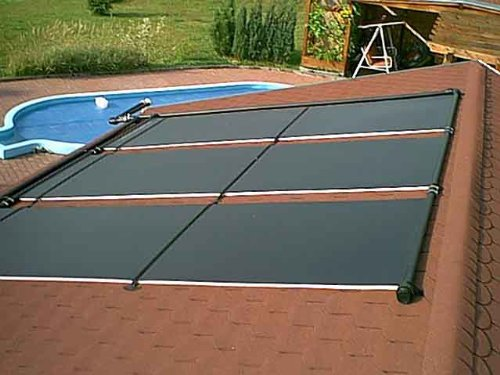 Akylux Solarkollektoren 3000 x 1200 mm Solar Schwimmbad-Poolheizungen-Test