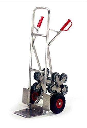 Alu-Treppenkarre 5er-Stern-Treppenkarren-Test