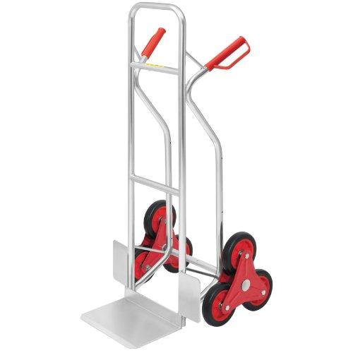 Aluminium-Sackkarre Treppensteiger, Tragkraft 150 kg-Treppenkarren-Test