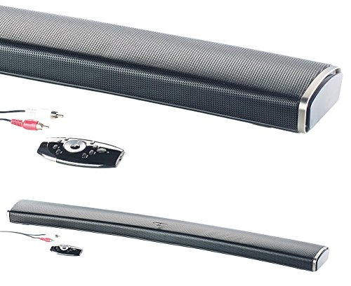 auvisio Soundbar Handy: 2.1-HiFi-Soundbar MSX-550.cv-Curved Soundbar-Test