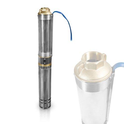 Berlan Tiefbrunnenpumpe BTBP100-4-1.1 - 9,4 bar max.-Tiefbrunnenpumpen-Test