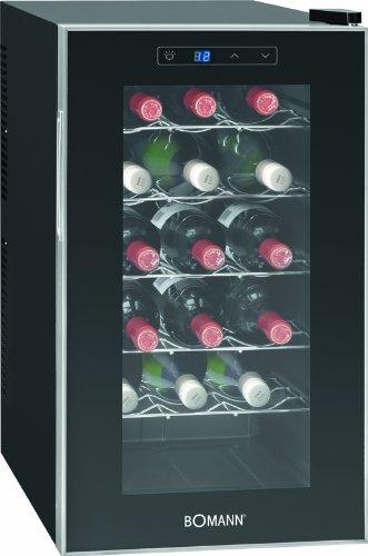 Bomann KSW 345 Weinkühlschrank Freistehend / B / 189-Weinkühlschrank-Test