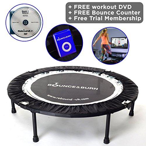 Bounce & Burn Mini Trampolin – Bestseller-Fitnesstrampoline-Test
