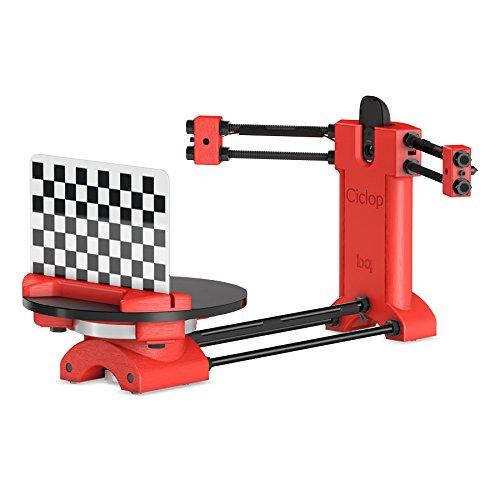 BQ H000178 Ciclop 3D Scanner, DIY Kit, Rot-3D-Scanner-Test