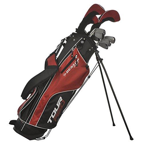 Dunlop Tour Red Golfset Graphit/Stahl Golfschläger-Test