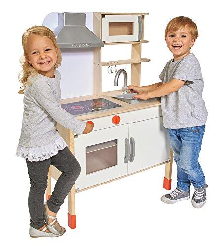 Eichhorn 100002494 - Spielküche aus Holz, Herd mit-Kinder-Holzküchen-Test