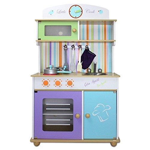 Froggy® Kinderküche Spielküche BTK01 aus-Kinder-Holzküchen-Test