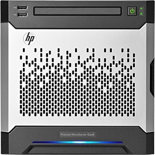 HP ProLiant MicroServer (Gen8, G1610T, 1P, 4 GB-U, B120i,-Micro-Server-Test