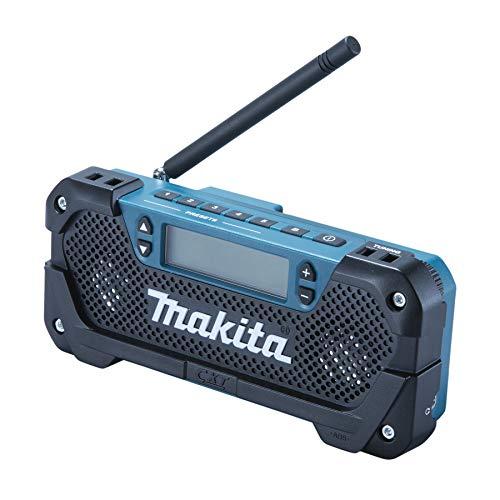 Makita MR052 Akku-Radio 10.8V solo ohne Akku und-Baustellenradio-Test