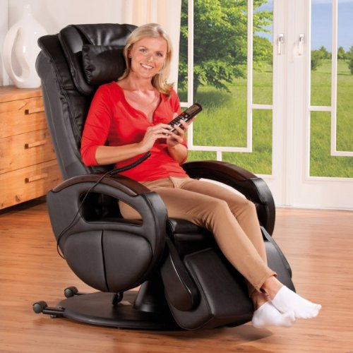 Massagesessel Komfort Deluxe mit Massagesessel-Test