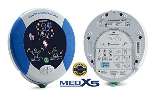 MedX5 PAD360P 8 Jahre Garantie, Laien Defibrillator AED,-Defibrillatoren-Test