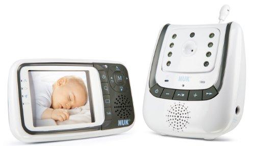 NUK 10256296 - Babyphone Eco Control+ Video, Full Eco Mode-Babyphone-Test