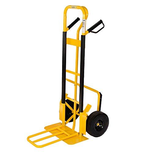 pro-bau-tec Sackkarre Extension mit PU Rädern 250 kg,-Treppenkarren-Test