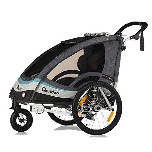 Qeridoo Sportrex 2 Fahrradanhänger 2017 - 2 Kinder,-Fahrradanhänger-Test