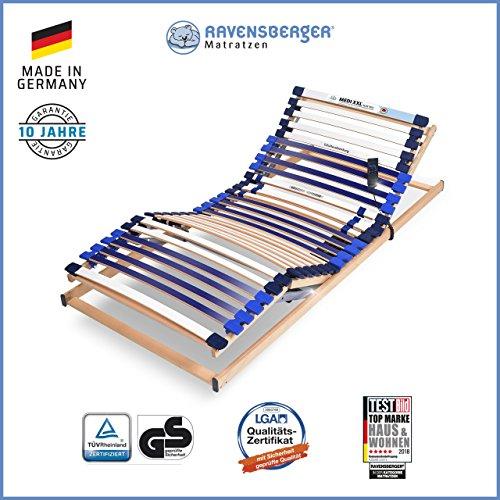 Ravensberger Matratzen® MEDI XXL®-Lattenrost-Test
