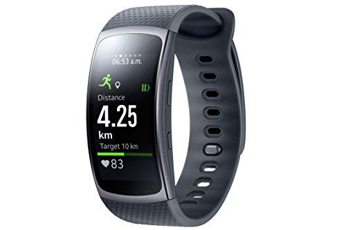 Samsung Gear Fit 2 Smartwatch mit Pulssensor und-Fitness-Armbänder-Test
