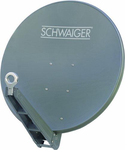 Schwaiger SPI085PA011 Aluminium Offset-Antenne 85 cm,-Satellitenschüssel-Test