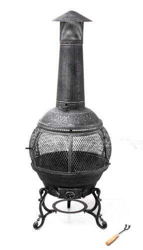 Tepro Feuerstelle Feuerofen Gußeisen Jacksonville,-Terrassenofen-Test