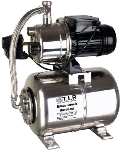 T.I.P. 31140 Hauswasserwerk HWW 4500 Inox Edelstahl-Hauswassserwerke-Test