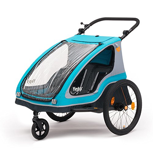 Yepp Duo Kinder-Fahrradanhänger für 1-2 Kinder-Fahrradanhänger-Test