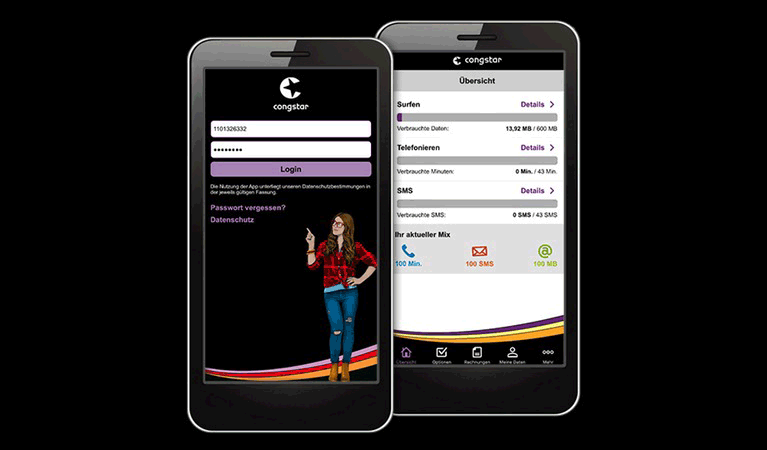 Congstar App Test