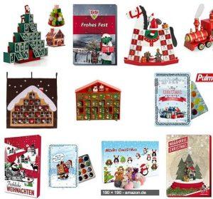 Weihnachtskalender bei Amazon