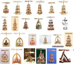 Amazon Weihnachtspyramide