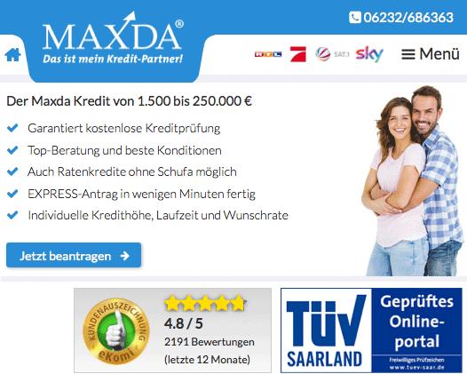 Fazit: Maxda ist seriös. Keine Abzocke, kein Betrug.