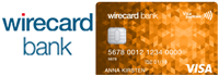 Wirecard Bank Prepaid Trio VISA Logo