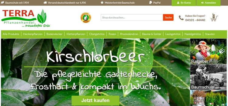 TERRA-Pflanzenhandel Erfahrungen