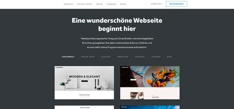 Weebly.com Erfahrungen und Reviews