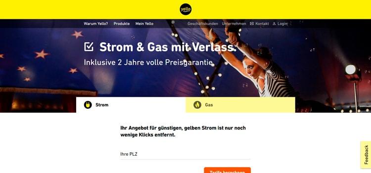 Yello Strom & Gas Erfahrungen