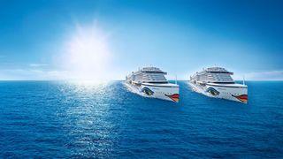 AIDA Position der Schiffe