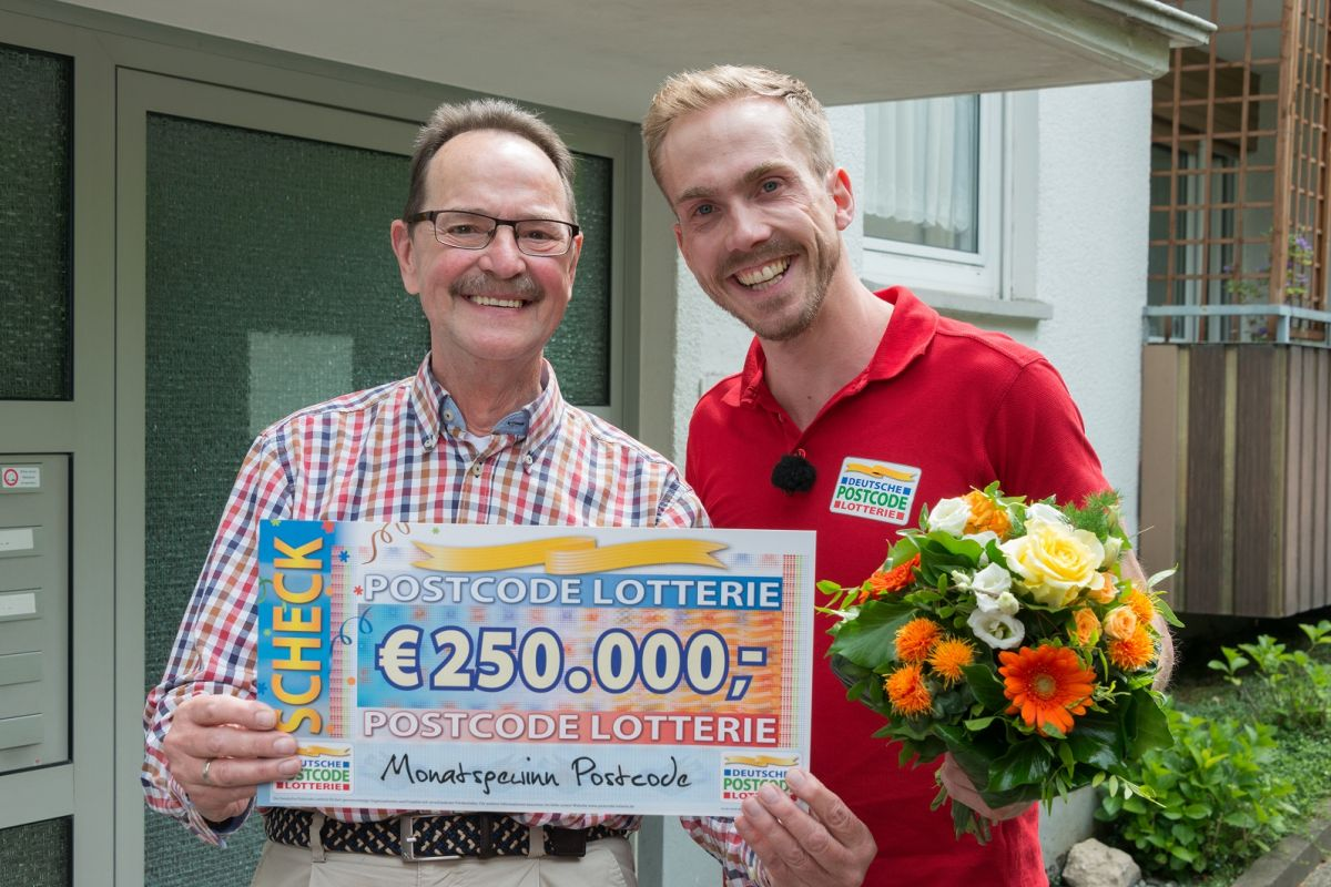 Postcode-Lotterie Gewinner