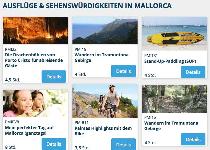 AIDA Mallorca Sehenswürdigkeiten