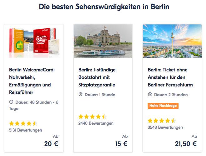 Erfahrungen mit GetYourGuide Berlin