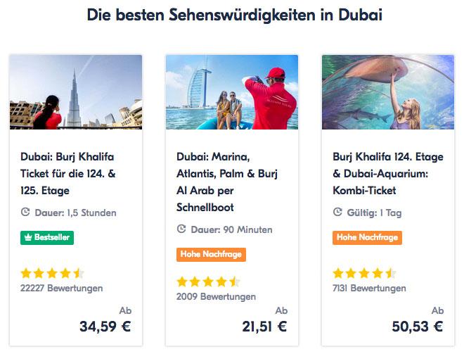 Erfahrungen mit GetYourGuide Dubai