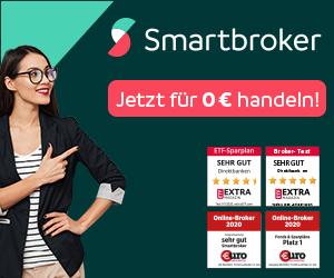 Jetzt Smartbroker Konto eröffnen & sparen